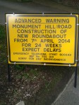 Weybridge Roadworks