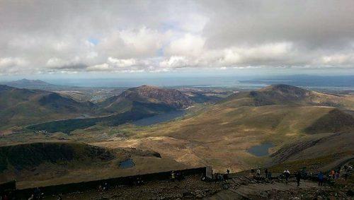 Snowdonia Landscape Start